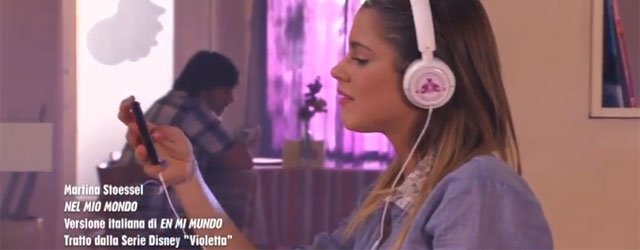 Violetta: music video 'Nel mio mondo' cantata in italiano da Martina Stoessel