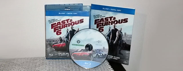 Fast and Furious 6 in Blu-ray