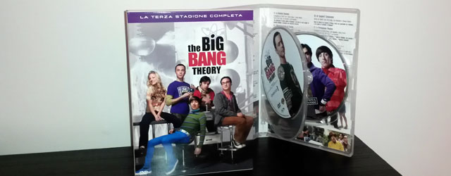 Big Bang Theory, la Terza Stagione Completa in DVD
