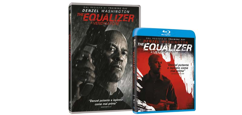 The Equalizer con Denzel Washington in home video