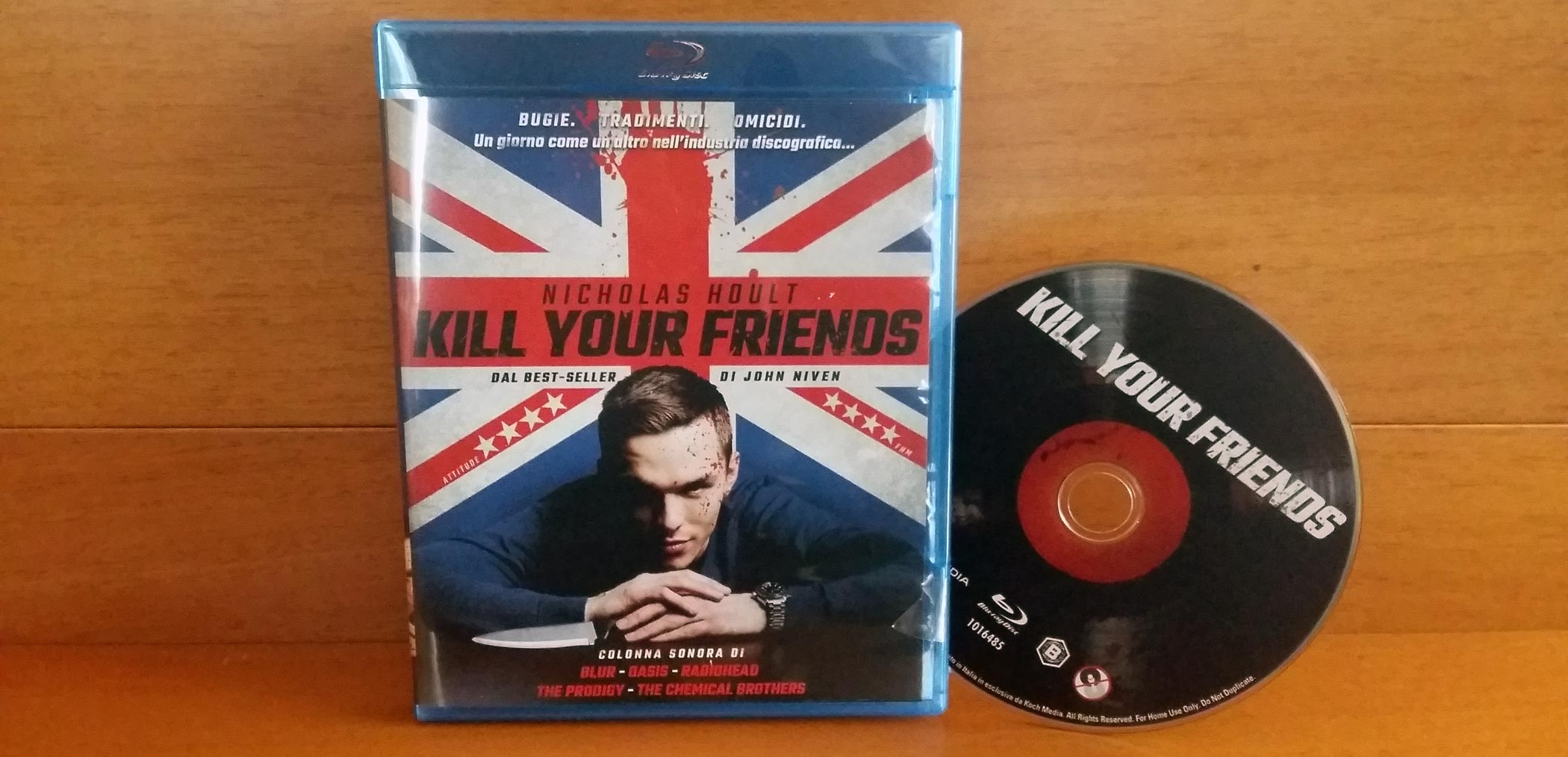 Recensione Blu-Ray di Kill Your Friends