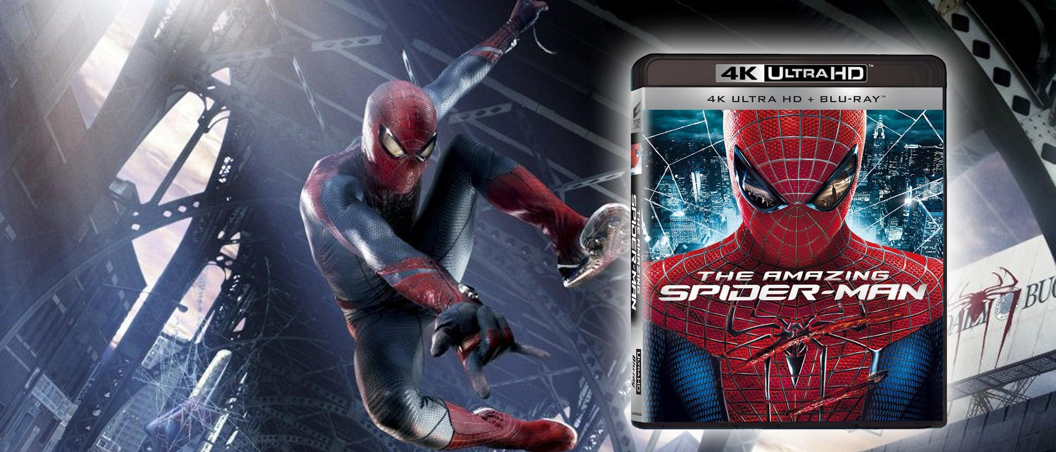Recensione The Amazing Spider-Man in Blu-ray 4k Ultra HD HDR