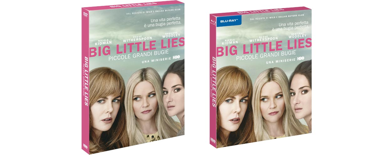 Big Little Lies in DVD e Blu-ray