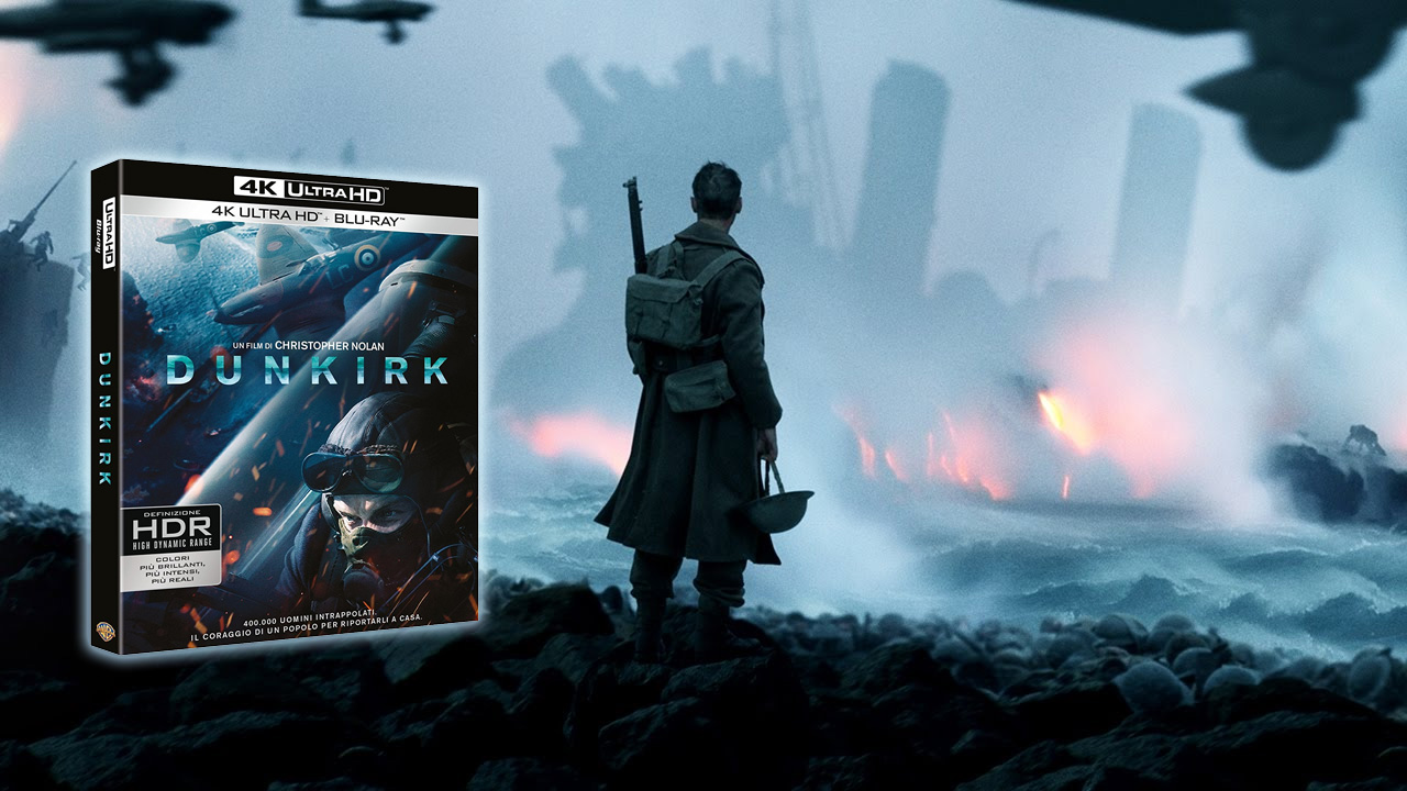 Recensione Dunkirk in 4k Ultra HD HDR