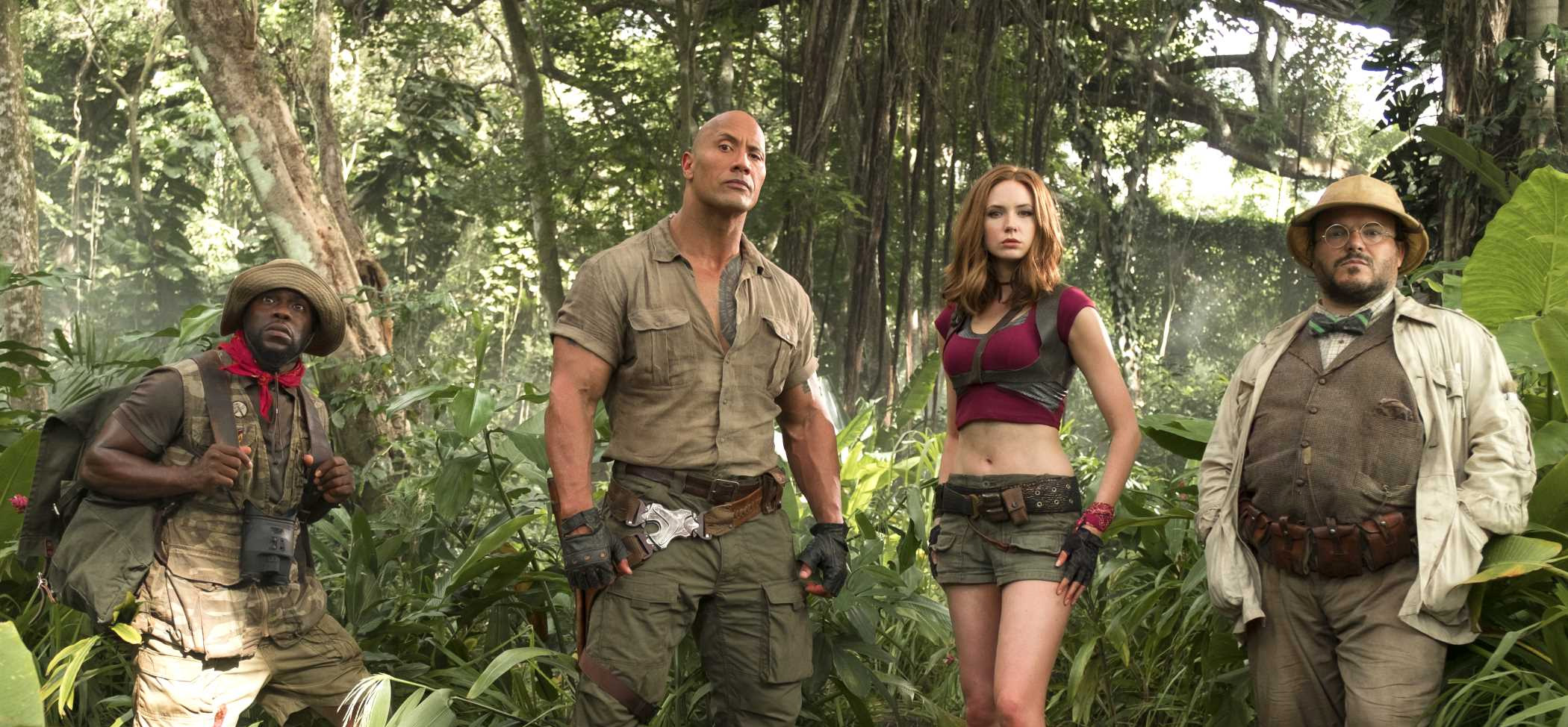 Box Office USA: Jumanji Welcome to the Jungle torna primo, La vedova Winchester debutta terzo