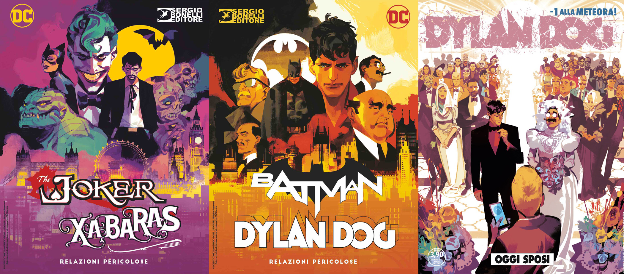 Dylan Dog a Lucca Comics and Games 2019