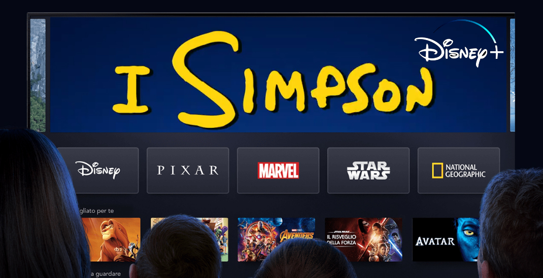 I Simpson Streaming