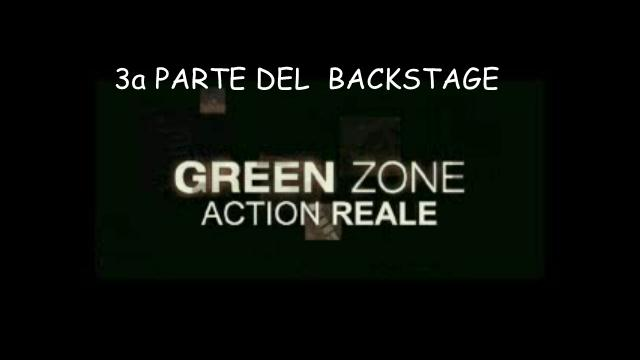 image Green Zone - Backstage 3 - Action reale