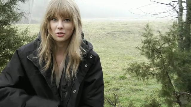 image Backstage 'Safe and Sound' di Taylor Swift - Hunger Games
