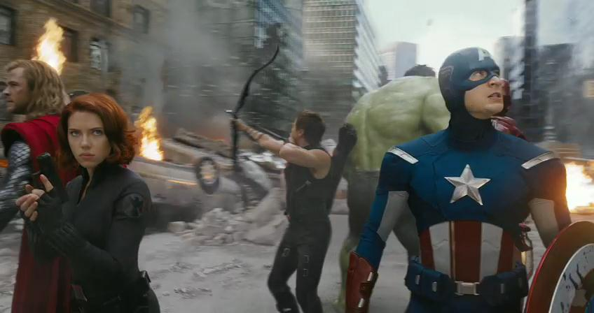 image The Avengers - Super Bowl 2012 Spot