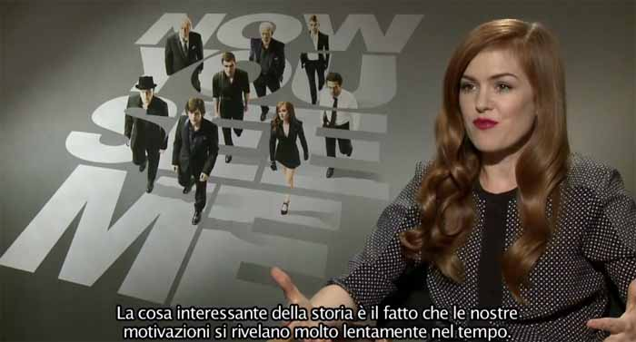 image Intervista a Isla Fisher - Now You See Me - I maghi del crimine