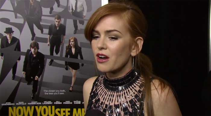 image Now You See Me: intervista ad Isla Fisher alla premiere di New York