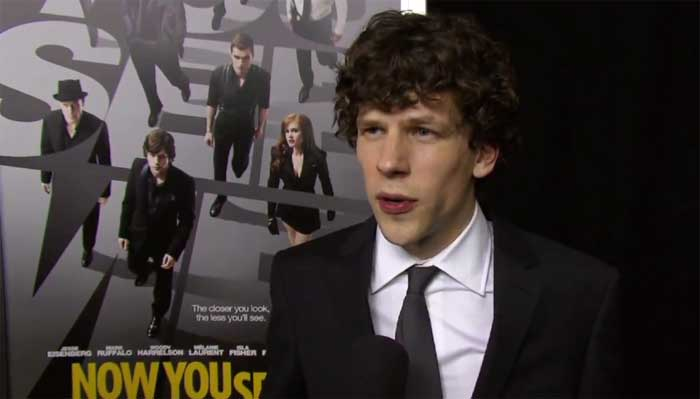 image Now You See Me: intervista a Jesse Eisenberg alla premiere di New York