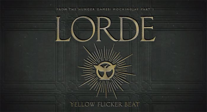 image Lorde - Yellow Flicker Beat [From The Hunger Games: Mockingjay Part 1]