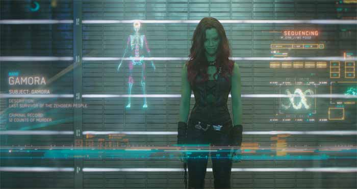 image Featurette Gamora - Guardians Of The Galaxy