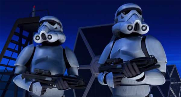 Corto art attack star wars rebels