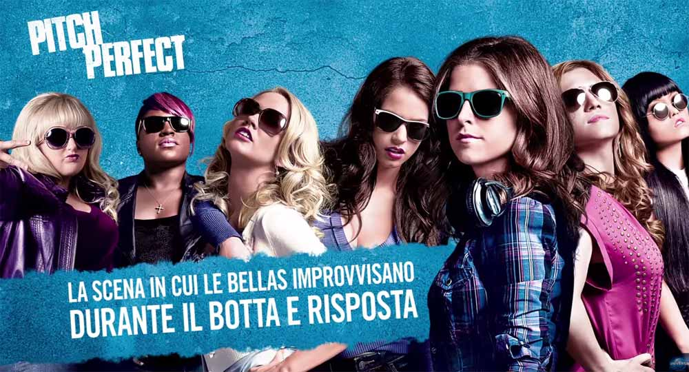 image Pitch Perfect - Clip Bellas improvvisano durante il Botta e Risposta