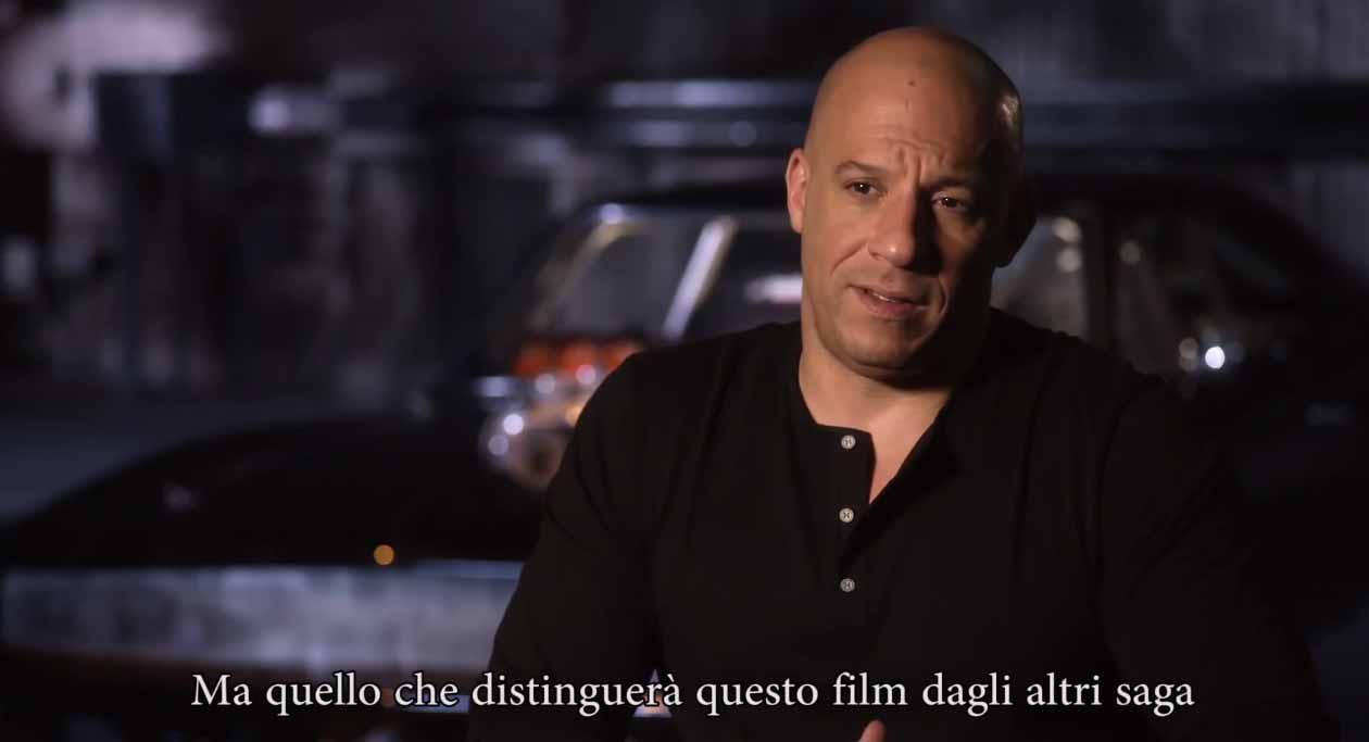 image Fast and Furious 7 - Intervista a Vin Diesel