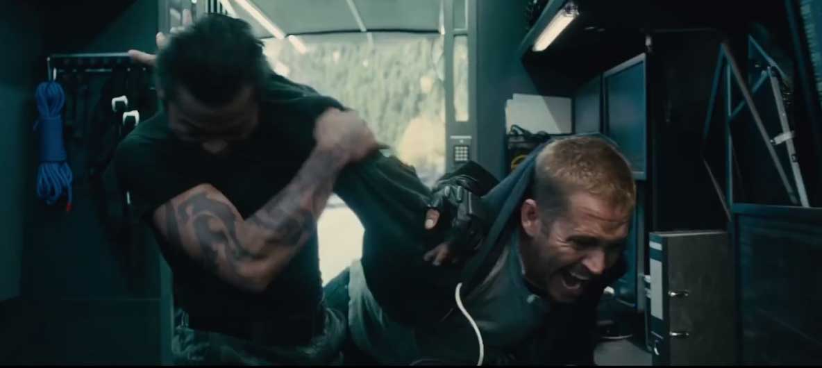 image Fast and Furious 7 - Clip Brian vs. Kie