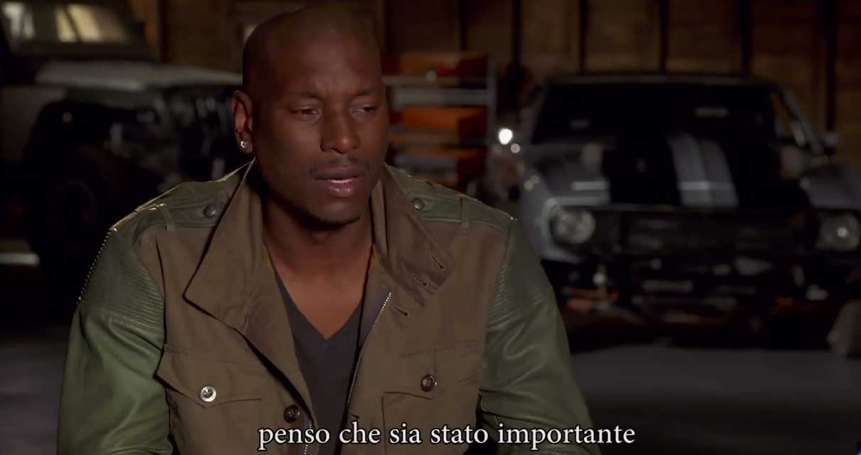 image Fast and Furious 7 - Intervista a Tyrese Gibson