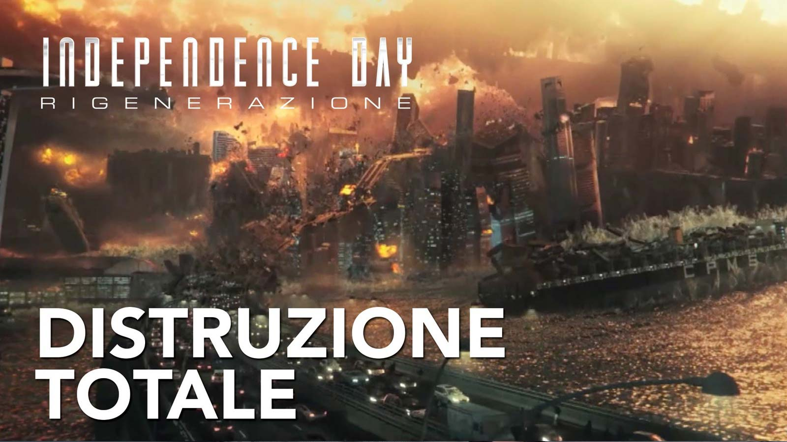 image Distruzione Totale - Featurette da Independence Day: Rigenerazione