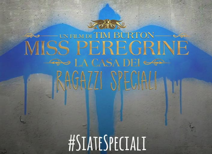 image Miss Peregrine - Stencil Motion Character Poster
