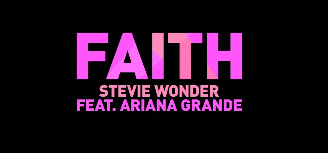 image Faith di Stevie Wonder feat. Ariana Grande (Dalla colonna sonora originale di Sing)