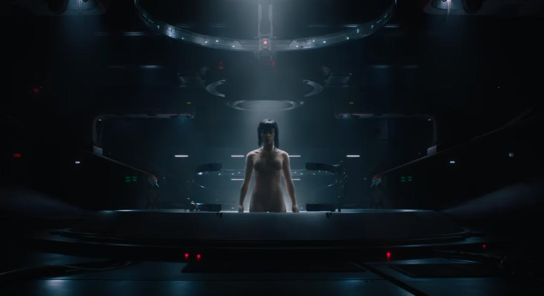 image Ghost in the Shell - Trailer 2 italiano