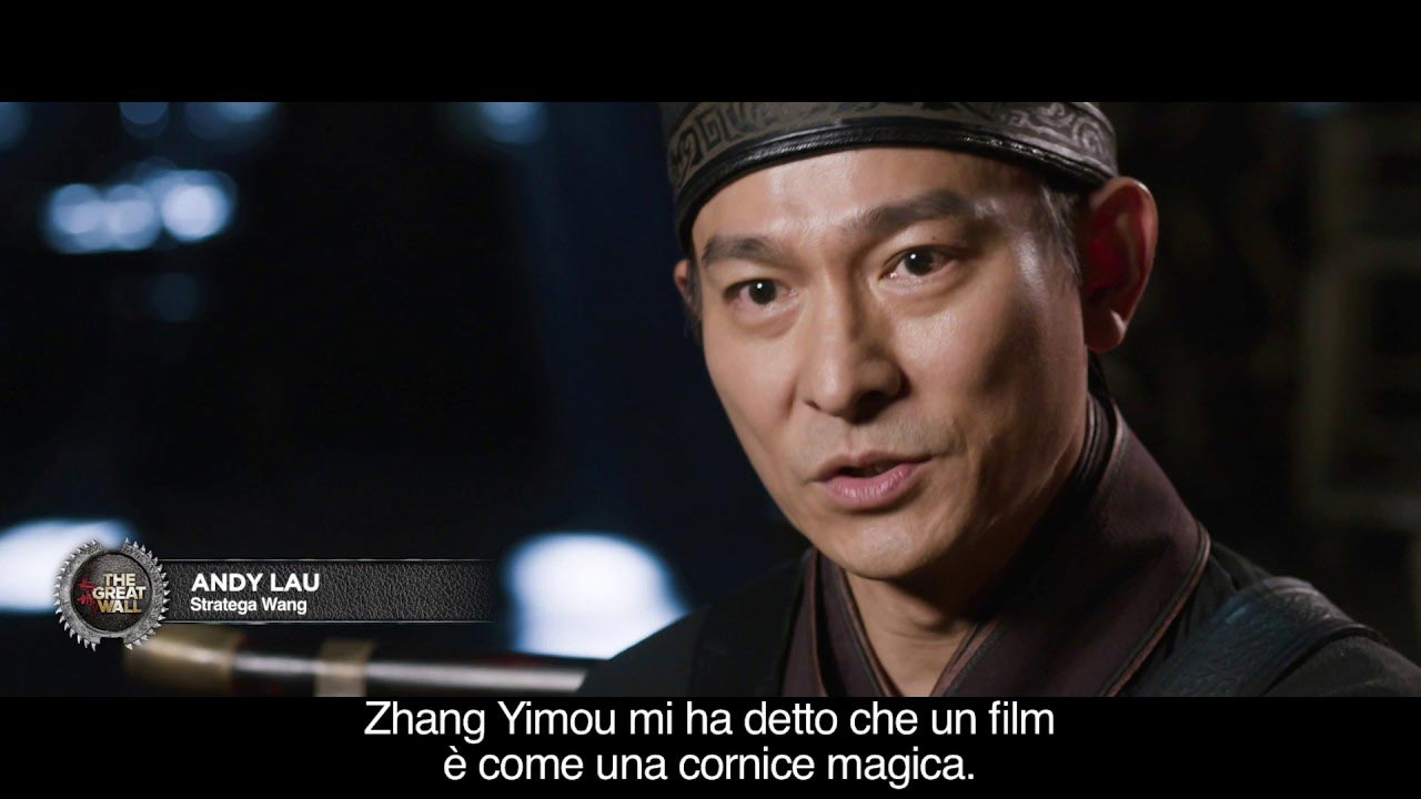 image The Great Wall - Sul set con il regista Zhang Yimou
