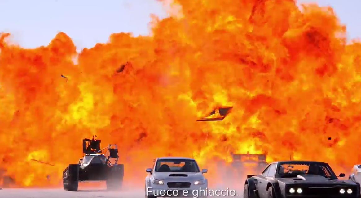 image Fast and Furious 8 - Featurette Riprese in Islanda: fuoco e ghiaccio