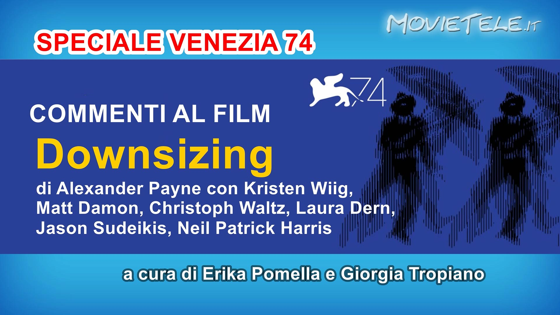 image Downsizing - Video Recensione da Venezia 74