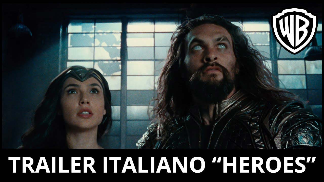 image Justice League - Trailer italiano Heroes