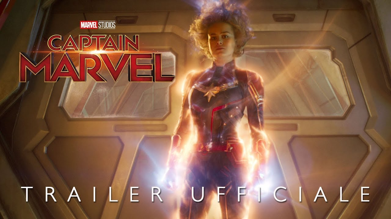 image Captain Marvel, Trailer italiano