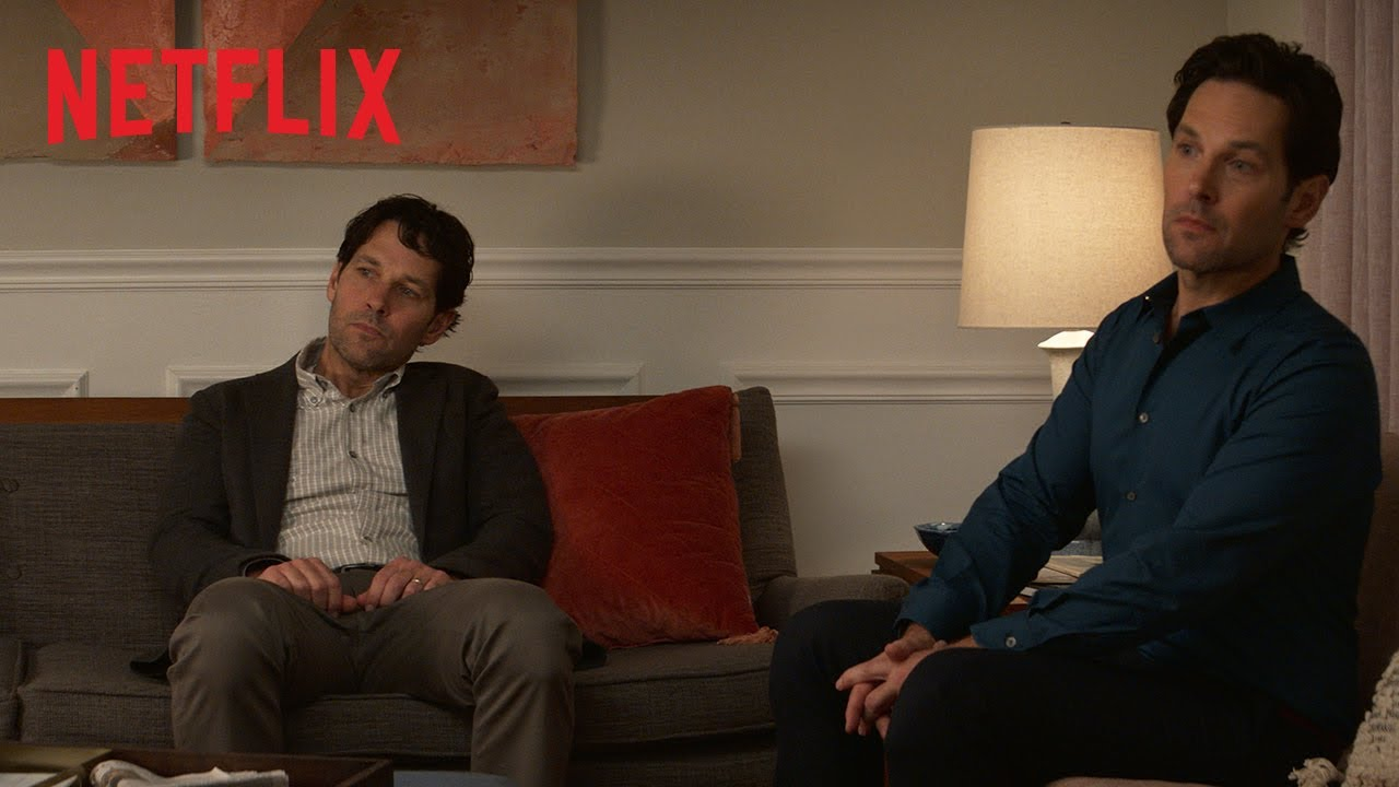 image Living with Yourself, Trailer della serie Netflix con Paul Rudd