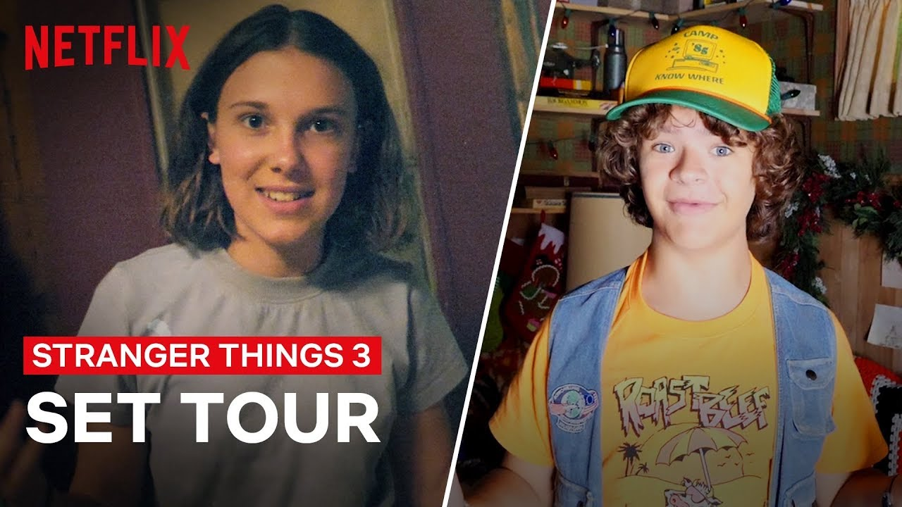 image Stranger Things 3, tour dietro le quinte con il cast