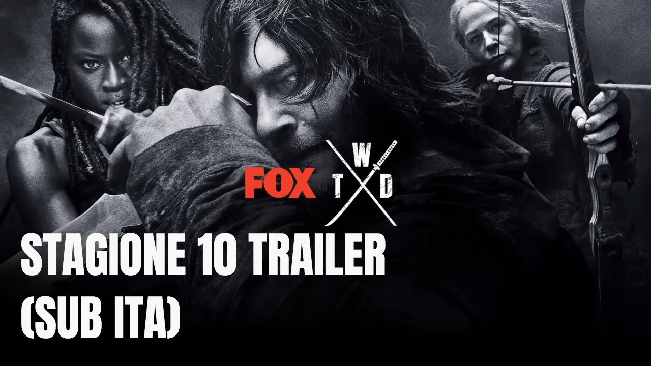 image The Walking Dead 10, primo trailer dal San Diego Comic-Con