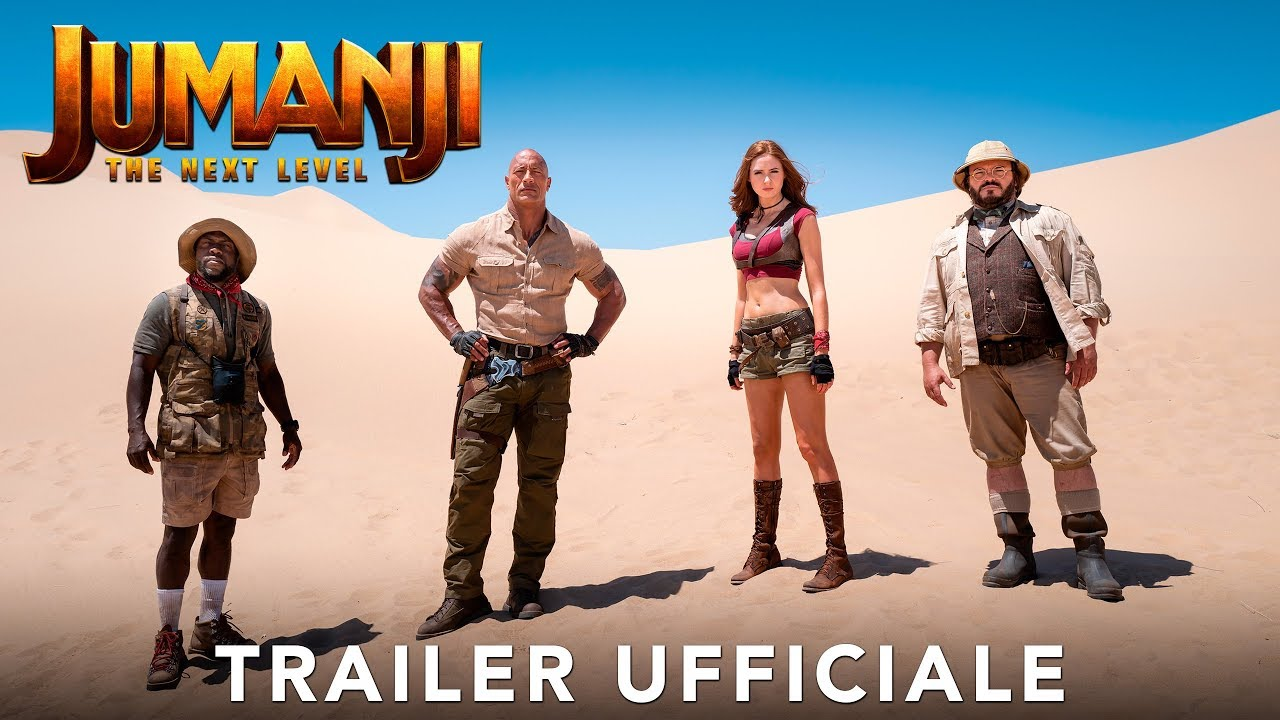 image Jumanji: The Next Level, Primo Trailer italiano