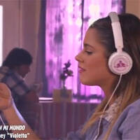 Music video 'Nel mio mondo' in italiano - Violetta
