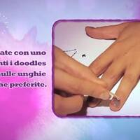 Tutorial Nail Art - Violetta
