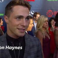 Arrow - Colton Haynes TCA Red Carpet Interview