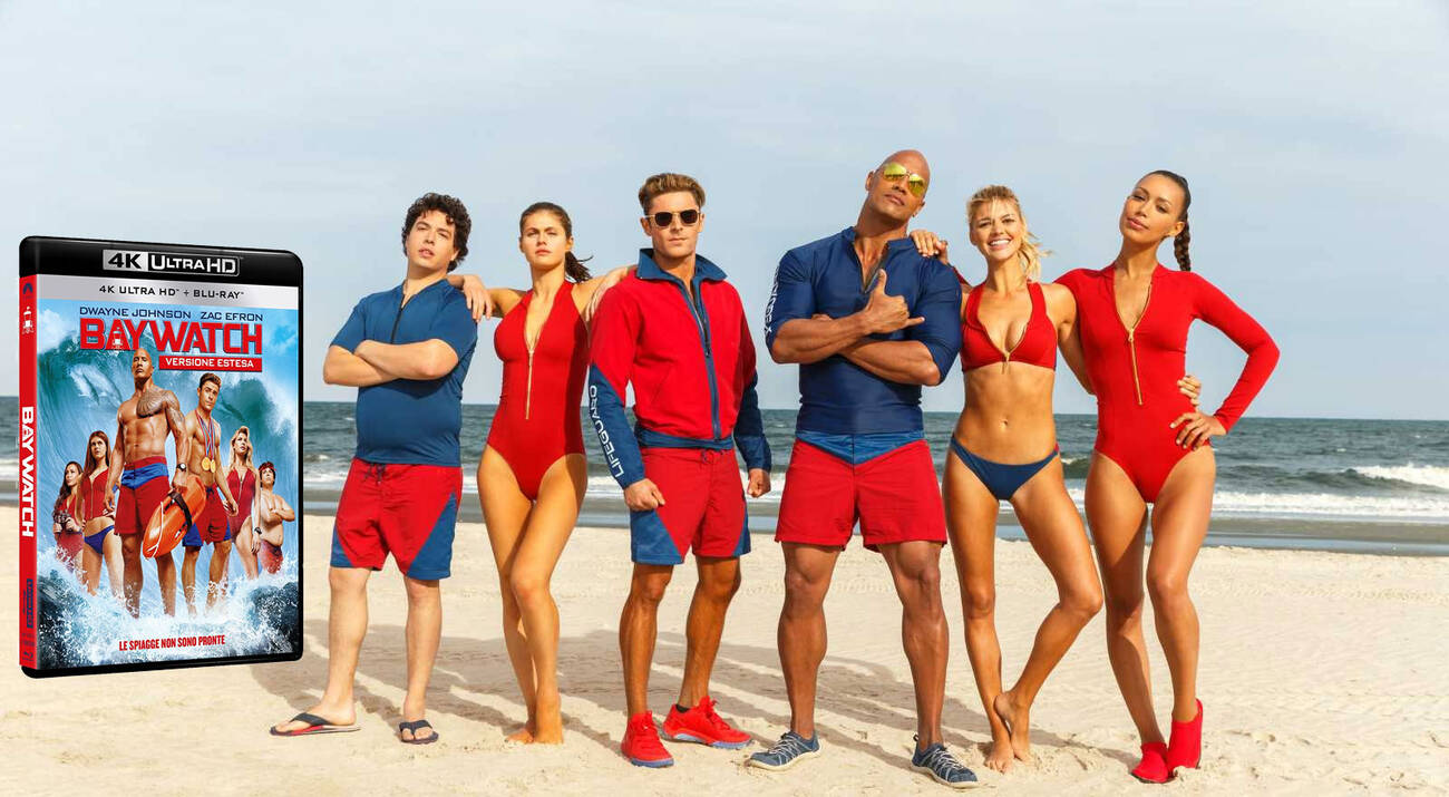 Baywatch, Recensione Blu-Ray 4k Ultra HD