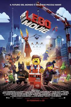 Locandina - The Lego Movie