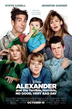 Locandina Alexander and the Terrible, Horrible, No Good, Very Bad Day