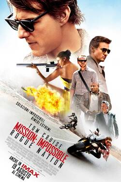 Locandina Mission: Impossible Rogue Nation