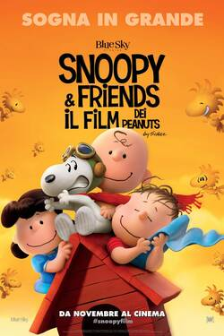 Locandina Snoopy and Friends - Il Film Dei Peanuts