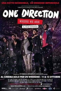 One Direction 'Where We Are' Il Film Concerto