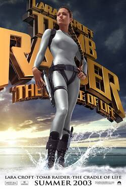 Locandina Lara Croft Tomb Raider: The Cradle of Life