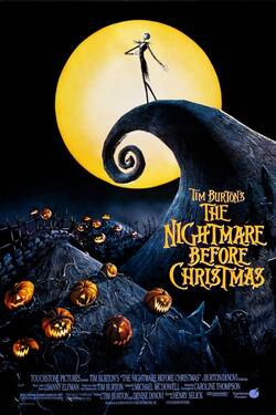 Locandina Nightmare Before Christmas