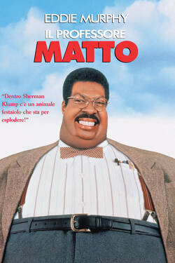 Locandina The Nutty Professor 1996 Tom Shadyac