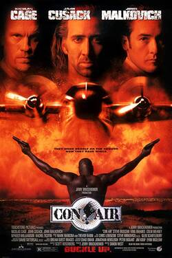Locandina Con Air 1997 Simon West